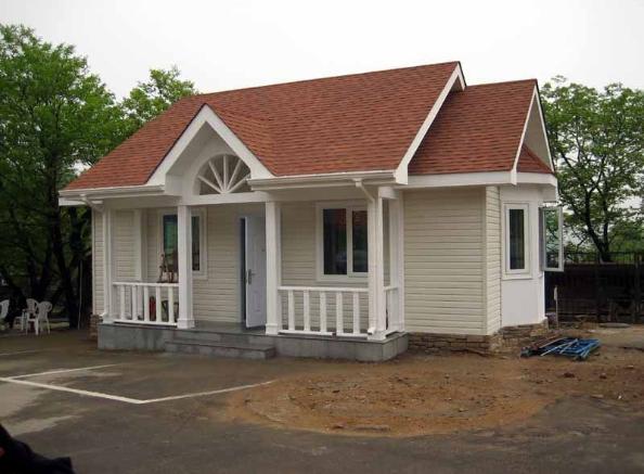 18万农村轻钢别墅83平方含内装修,可以拎包入住