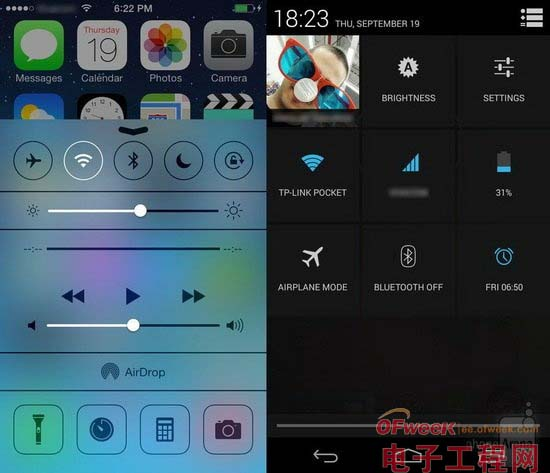 iOS 7与Android 4.3全面对比(图文)