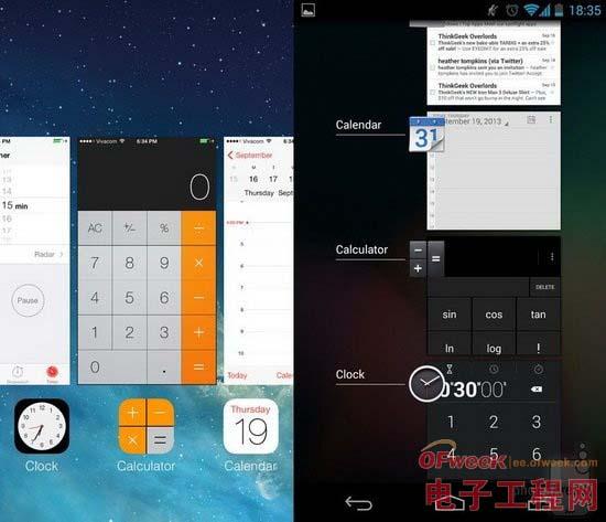 iOS 7與Android 4.3全面對比(圖文)